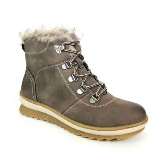 Lunar Womens Felix Taupe Ankle Boot